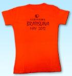 Reklamné tričko pre školu