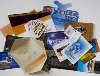 Pohľadnice, karty, obálky